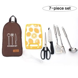 $enCountryForm.capitalKeyWord Australia - Outdoor Cookware Set Wild Kitchenware Portable 201 Stainless Steel Sensual Tote Picnic Bag