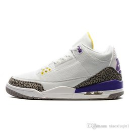 Wholesale Mens basketball shoes retro jumpman air Atmos x Hornets Purple Bio Beige S kids sneakers with original box