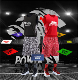 $enCountryForm.capitalKeyWord NZ - New basketball suit custom suit, quick-drying breathable jersey, basketball team uniform, printed number name.So cool