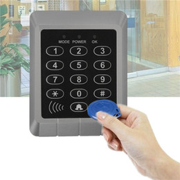 security system panels Australia - RFID Security Reader Entry Door Lock keypad Access Control System+10 Pcs Keys
