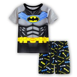 $enCountryForm.capitalKeyWord UK - kids pajamas girls boys set kid t-shirt+short pants cotton children fashion Cartoon clothing Sleepwaear pajama