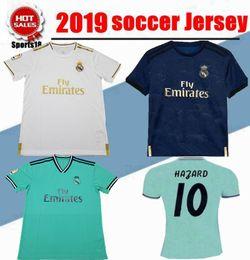 Isco Soccer Jerseys Canada - 2020 New Hazard Real Madrid home Soccer Jersey 19 20 Modric Soccer shirt 2019 SERGIO RAMOS KROOS ISCO ASENSIO BALE Football uniform
