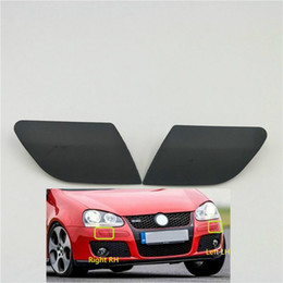 volkswagen vw golf Canada - For Volkswagen VW Golf V MK5 GTI 2003-2009 Front Bumper Headlight Head Lamp Washer Nozzle Cover Cap