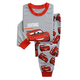 Reindeer Girls Set UK - Christmas new Year Baby Boys Girls Reindeer Home Sleepwear Set Kid Pajamas Nightwear 2-8Y pijama girls