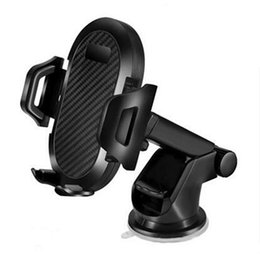 Discount universal car windshield mount for cellphone - Multifunction Car Phone Holder Dashboard Windshield Mount Holder Stand 360 Rotation Navigation Stand Universal for Cellp