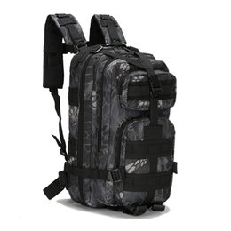 Color Leather Bags Australia - 2019 Newest Hot Style Outdoor Tactical Training Equipments Camping Backpack Sports Backpack 3P Multi-worlds Bag Defence Water