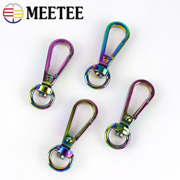metal hooks for handbags Australia - Meetee Metal Buckles Lobster Clasps For Handbag Swivel Trigger Snap Hook Dog Collar Bag Strap Luggage Accessories
