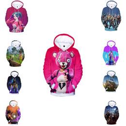 Chinese  3D Print Game Battle Royale Kawaii Hoodies Sweatshirts Women Men Casual Sweatshirt Hip-Hop Pop Lovely Hoodie Girl Boys Clothes manufacturers
