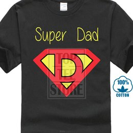$enCountryForm.capitalKeyWord Australia - Super Dad T Shit Cotton New Father Daddy Husband Love Family Gift Christmas Tee 100% Cotton Fashion T-shirts