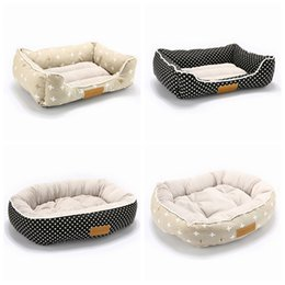 small dog house kennels Australia - Pet Products Dog Bed Sofa For Small Medium Large Dogs Cats Winter Pet Dog Bed House Mats Bench Pet Kennel Sofa Durable Puppy Bed T200618