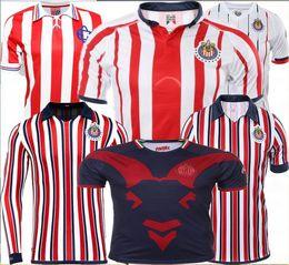 2dc4aec8630 Top quality 2018 CLUB WORLD CUP Chivas de Guadalajara soccer jerseys 18 19  home away 3rd Chivas 110th O.PINEDA soccer football shirt