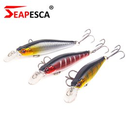 Discount painting fishing lures - Minnow Fishing Lure 85mm 8g Hard Bait Diving 3d Laser Eyes Lifelike Excellent Paint Artificial Pesca Tackle Ya12