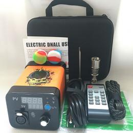 $enCountryForm.capitalKeyWord Australia - 2019 Newest Portable Remote Enail electric Dab nail E nail kits TC PID digital dabber box with Ti Titanium quartz nail for glass bong