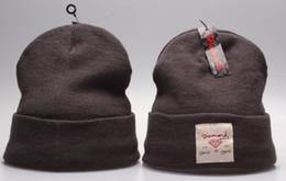 $enCountryForm.capitalKeyWord NZ - Hot Unisex Diamond embroidery Bonnet Spring winter men knitted hat crimping men casual sports outdoor warm beanie women Gorros touca caps