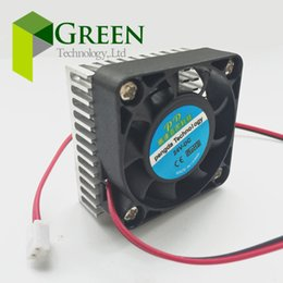 card heating 2019 - New DC 5V 12V 24V 0.1A 4010 4CM 40mm 40x40x10mm BGA fan Graphics Card Fan with Heat sink CoolerCooling 2pin discount car