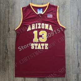 f0eaab2bd 2019 New Mens James Harden #13 Arizona State College Basketball Jersey  Personalized custom any name number XS-5XL