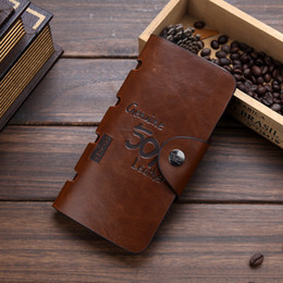 bags long belt Australia - new designer's man wallet Brand men's wallet long clutch card purse for male fashion phone bag coin pocket