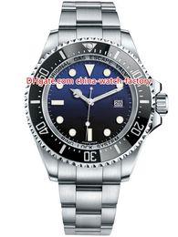 44mm Ceramic Bezel Australia - 12 Style High Quality Perpetual 44mm Sea-Dweller 116660 D-Blue 40mm 116600 43mm 126600 Ceramic Bezel Asia 2813 Automatic Mens Watch Watches