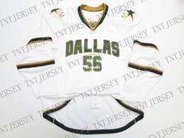 f58db225f Cheap custom DALLAS STARS AWAY JERSEY  56 stitch add any number any name  Mens Hockey Jersey XS-5XL