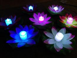 Floating Lotus Flower Pool Lights Australia New Featured Floating