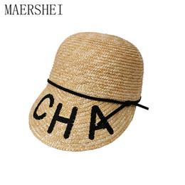 $enCountryForm.capitalKeyWord NZ - Maershei Sun Hats For Women Equestrian Kentucky Derby Hats Visor Sobrero Straw Hat With Bow Summer Hat For Women Beach Cap Y19070503