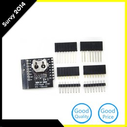 Chinese  Freeshipping 10 Pcs For WeMos Data Log Logger Micro SD WIFI D1 Mini Board +RTC DS1307 Clock For manufacturers