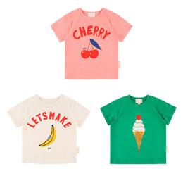 Cute Baby Tees Australia - Enkelibb Super Cute Baby Boys Girls Summer Ice Cream Banana Pattern T Shirt For Toddler Girl Fashion Tops Bebe Kids Tees J190529