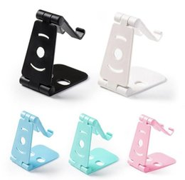 Double-folded Metal Multi-angle Mobile Phone Stand Desk Holder Tablet Stand Adjustment Support Bracket For Car Or Tablet Be Novel In Design Cellphones & Telecommunications