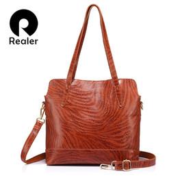 $enCountryForm.capitalKeyWord NZ - Women Crossbody Bag Women Tote Bag Large Capacity Handbag Genuine Leather Shoulder Bag High Quality Cow Leather J190426