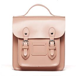 $enCountryForm.capitalKeyWord Australia - Brand Designer Women Backpack Pu Leather Belt Satchel Mini Small Teenage Girl's Bag For School 2018 New Fashion Retro Bagpack Y19061102