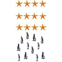 Simulation Pinguin Ozean Tiermodell Figur Pädagogisches Spielzeug Wohnkultur E