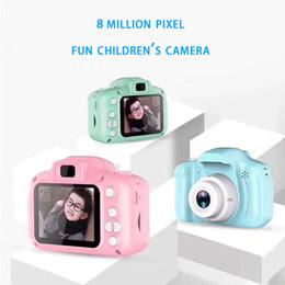 Cartoon Girl Camera Australia - 2.0inch 3264x2448 800W Pixel Kids Camera Toys Mini HD Cartoon Magical Cameras Taking Pictures Gifts For Boy Girl Birthday