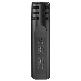 $enCountryForm.capitalKeyWord UK - Excelvan Wireless Microphone F9 Mobile Phone Microphone Handheld Karaoke Mic USB KTV Player Bluetooth Speaker Record Music