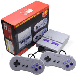 ClassiC snes games online shopping - Super Classic Game Latest Entertainment System Game Console For NES SFC SNES Transport Free DHL