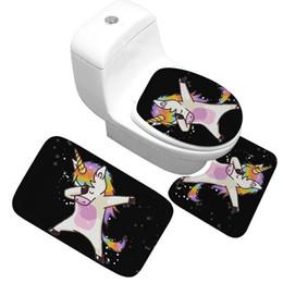 $enCountryForm.capitalKeyWord UK - 3PCS Animal Cartoon Toilet Seat Cover Set Absorbent Non-Slip Bathroom Rug Bath Mat Set Mat Flannel Floor Mats 03