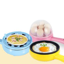 $enCountryForm.capitalKeyWord Australia - Beijamei Multifunction household mini egg Pancakes Electric Fried Frying Steak Pan Non-Stick Boiled boiler eggs steamer