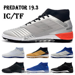 $enCountryForm.capitalKeyWord Australia - Mens High Tops Football Boots Archetic Predator 19.3 IC TF Soccer Cleats ZIDANE BECKHAM Predator 19.3 Pogba Indoor Turf Soccer Shoes