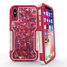 $enCountryForm.capitalKeyWord Australia - Liquid glitter quicksand phone case for iPhone 7 8 X xr xs max transparent sparkly cover for samsung galaxy J3 s8 s9 plus