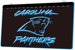 Vente en gros LS854-b-Carolina Signe de la lumière au néon à LED Super Bowl Bar 3D LED Personnaliser sur demande 8 couleurs à choisir.jpg