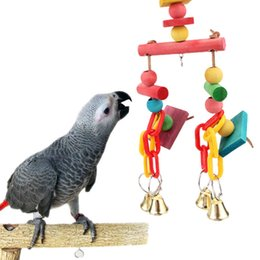Bird Blocks Australia - Articles Pets Birds Parrot Gnaw Cotton Rope Block Bird Toys