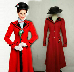 $enCountryForm.capitalKeyWord Australia - Details about Hot Mary Poppins Cosplay Costume red coat+hat