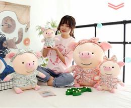 $enCountryForm.capitalKeyWord NZ - Cute Pig Stuffed Animal Pillow Plush Soft Doll Toy Kid Birthday Gift Hot UK