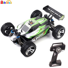 Discount fast toys cars - Rc Cars Off-road 4wd Vehicle 2.4 Ghz High Speed 1: 18 Remote Control Racing Car Fast Race Buggy V2 Toys A959-A Car Rc