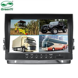 Wholesale DC V TFT LCD HD AHD P Car Vehicle CH DVR Video Recorde Monitor For Truck Van Bus Parking Camera System car dvr