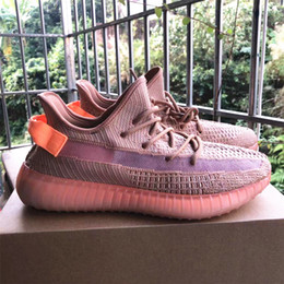 a904aa341 2019 Latest Kanye West Running Shoes 350 Clay True Form Hyperspace Men  Women Sneakers Fashion Sports Runners Size 5-12 Available