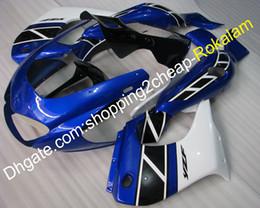 $enCountryForm.capitalKeyWord Australia - Fairings Kit For Yamaha Parts YZF1000R Thunderace YZF-1000R 1997~2007 YZF 1000 R 97~07 Motorbike Blue Black White Bodywork Fairing Fitting