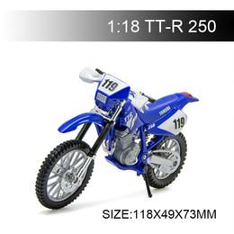 $enCountryForm.capitalKeyWord Australia - 1:18 Motorcycle Models TTR250 TT-R 250 Diecast Plastic Moto Miniature Race Toy For Gift Collection