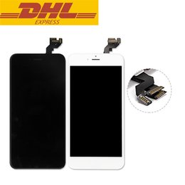 Iphone Display Home Button Australia - For Iphone 6s plus Touch Screen Digitizer LCD Display With Front Camera Home Button Full Screen Assembly 5.5inch No Dead Pixels