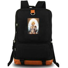 $enCountryForm.capitalKeyWord Australia - Power Girl daypack Super hero school bag Kara Zor L photo backpack Canvas laptop schoolbag Outdoor rucksack Sport day pack