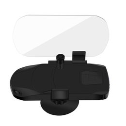 Drahtloses Ladegerät HUD Head Up Display Halter Handy GPS Navigation Autoinnenausstattung Autoladestation